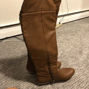 Call It Spring Shoes - Brand new knee high tan boot